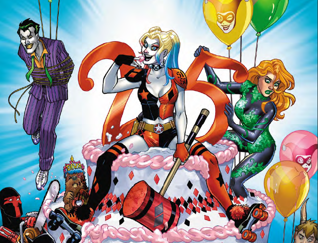 A hilarious, fun look at Harley's different incarnations with great writing and wonderful art.