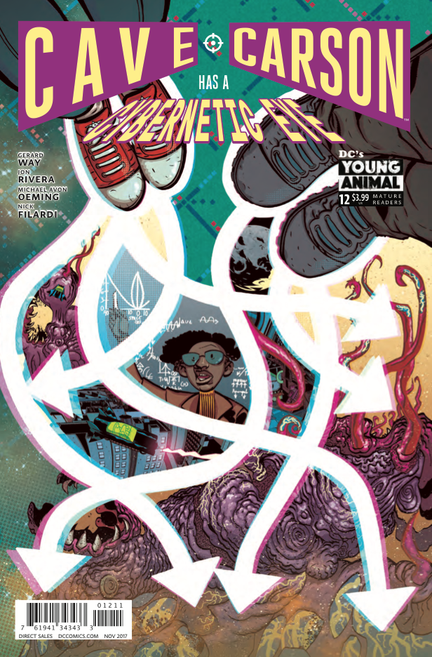Cave Carson Has a Cybernetic Eye #12 Review