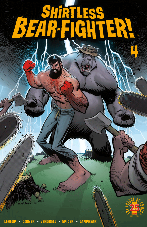 Shirtless Bear-Fighter! #4 Review