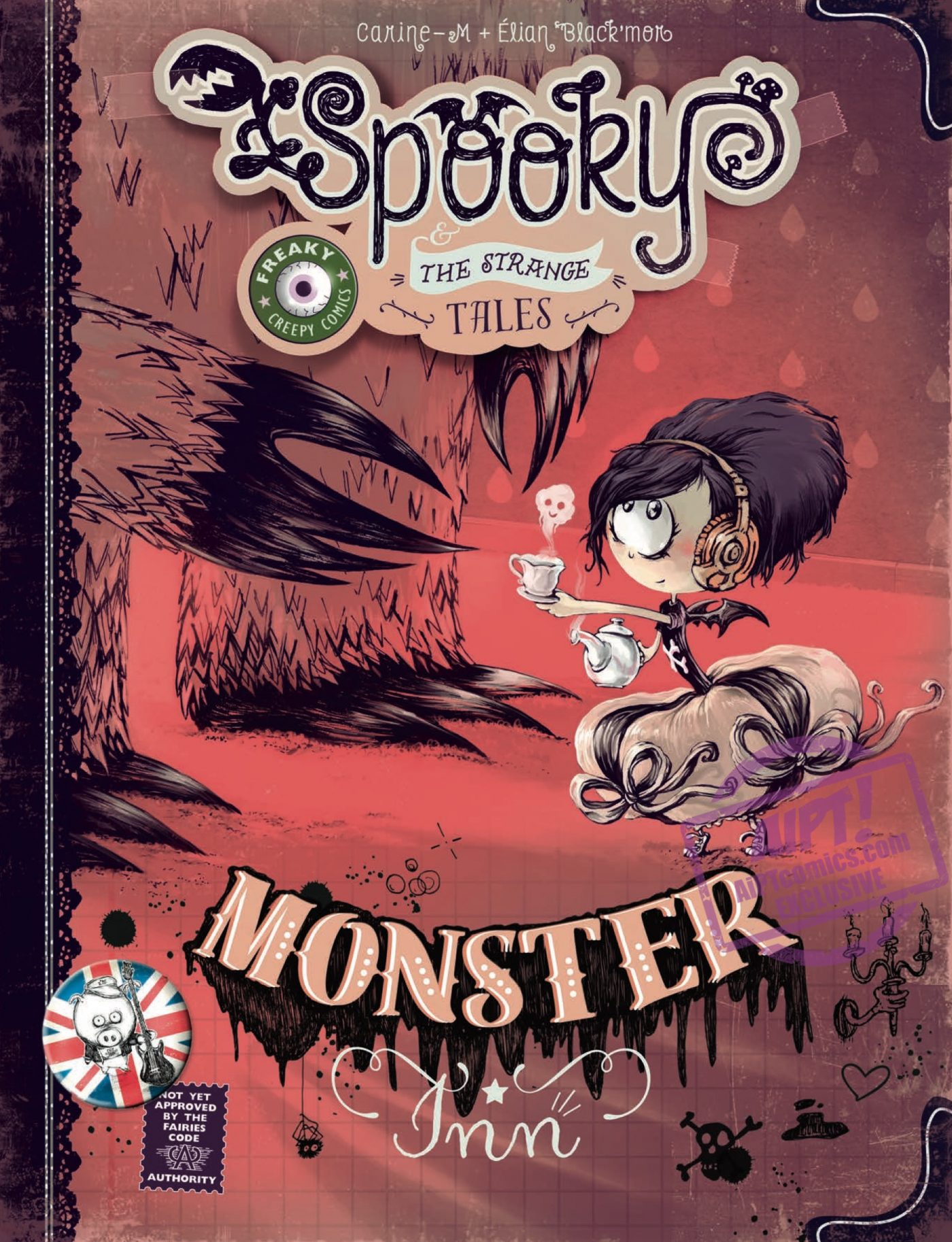 [EXCLUSIVE] IDW Preview: Spooky & Strange Tales Monster Inn HC