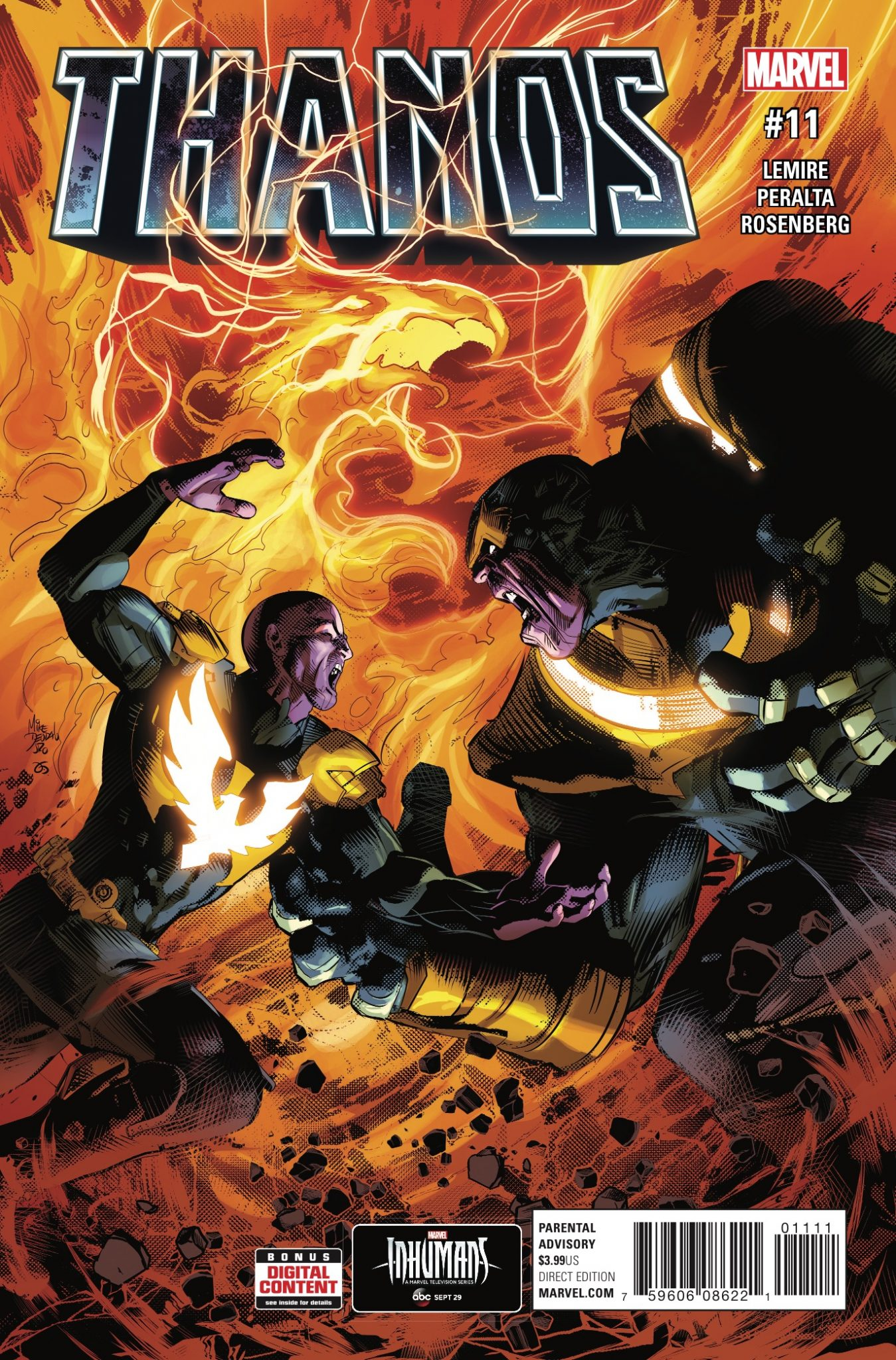 Marvel Preview: Thanos #11