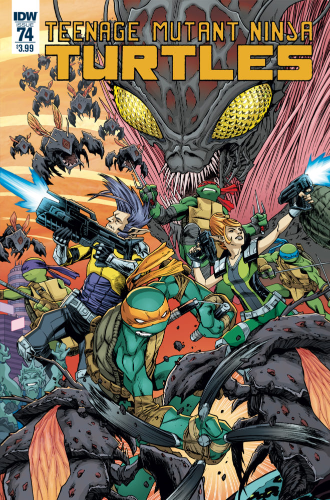 Teenage Mutant Ninja Turtles #74 Review