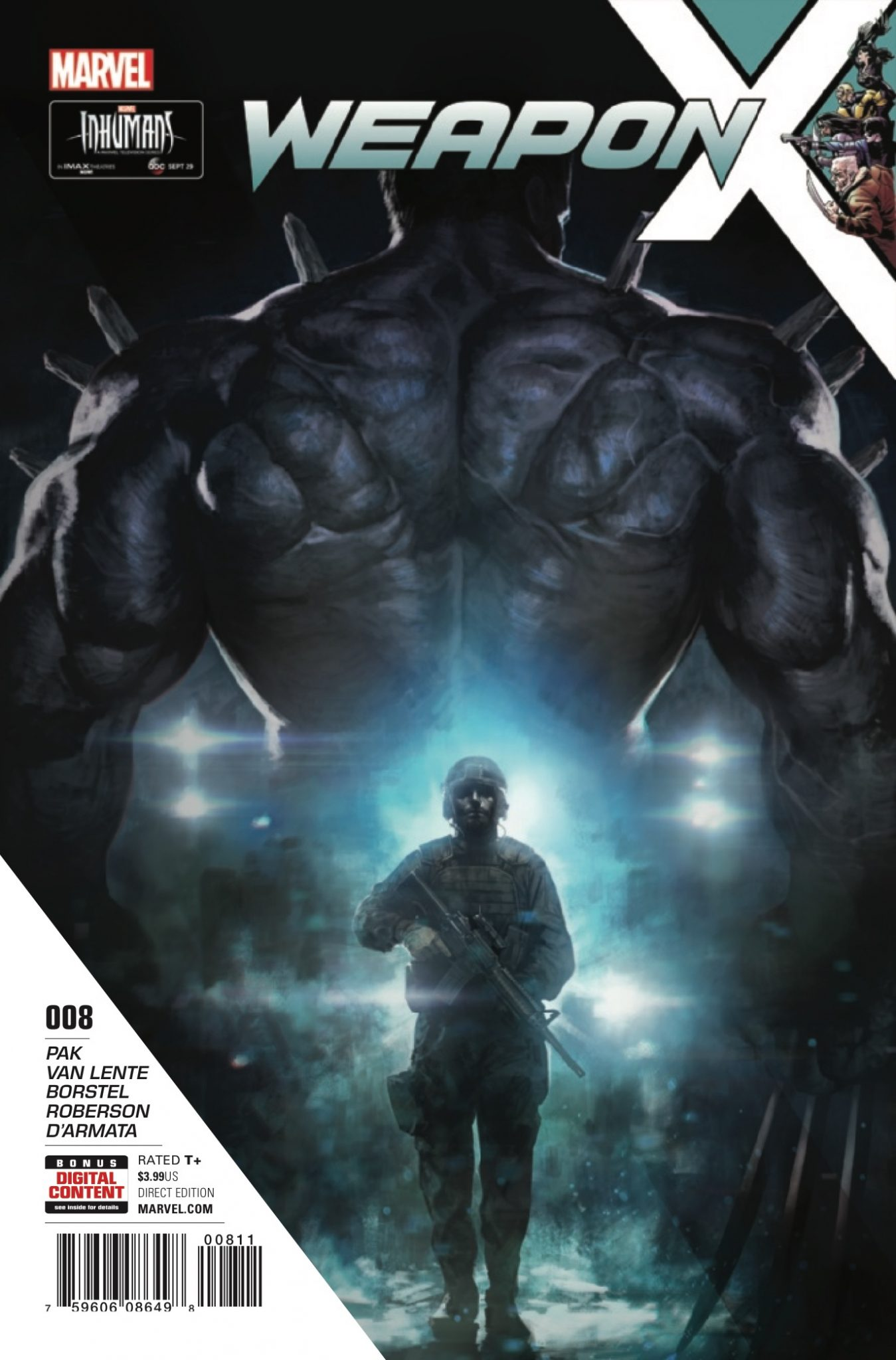 Marvel Preview: Weapon X #8