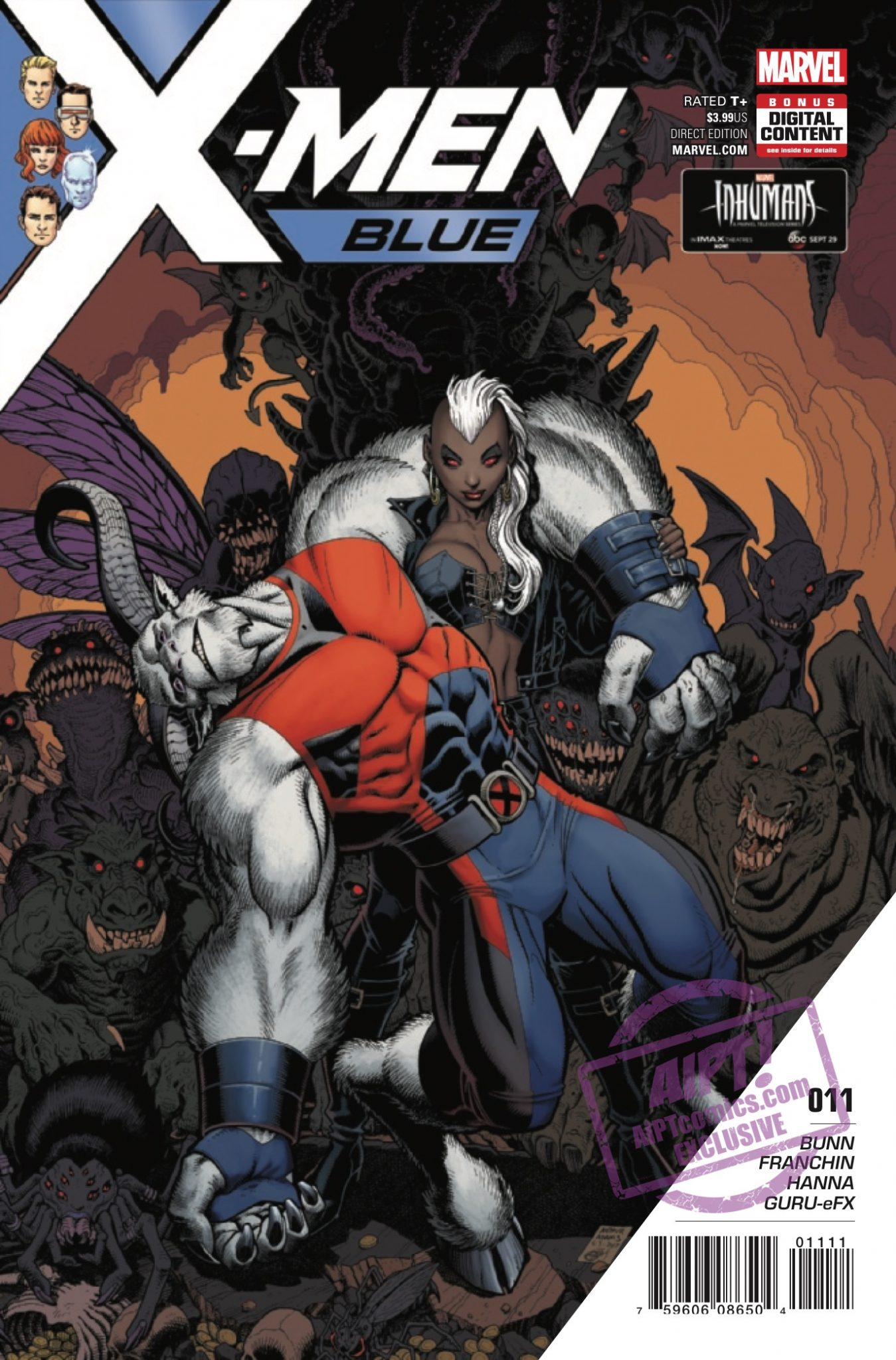 "The X-Men face off against the demonic Hex-Men in the second part of ""Toil and Trouble."""