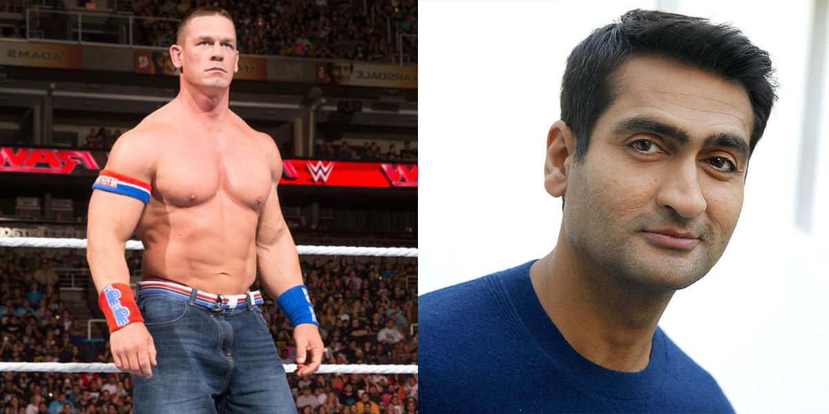 John Cena and Kumail Nanjiani will be co-starring in a buddy cop movie