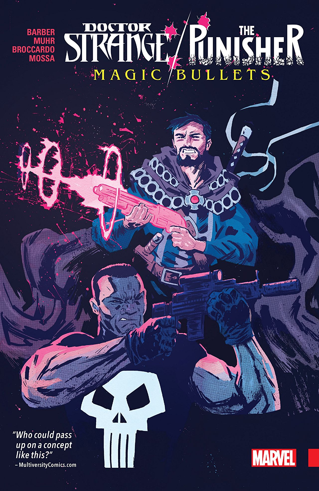 'Doctor Strange/Punisher:  Magic Bullets' review: a team-up done (mostly) right