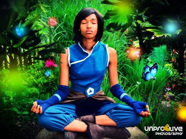 The Legend of Korra: Korra cosplay by Ruffin Muffin