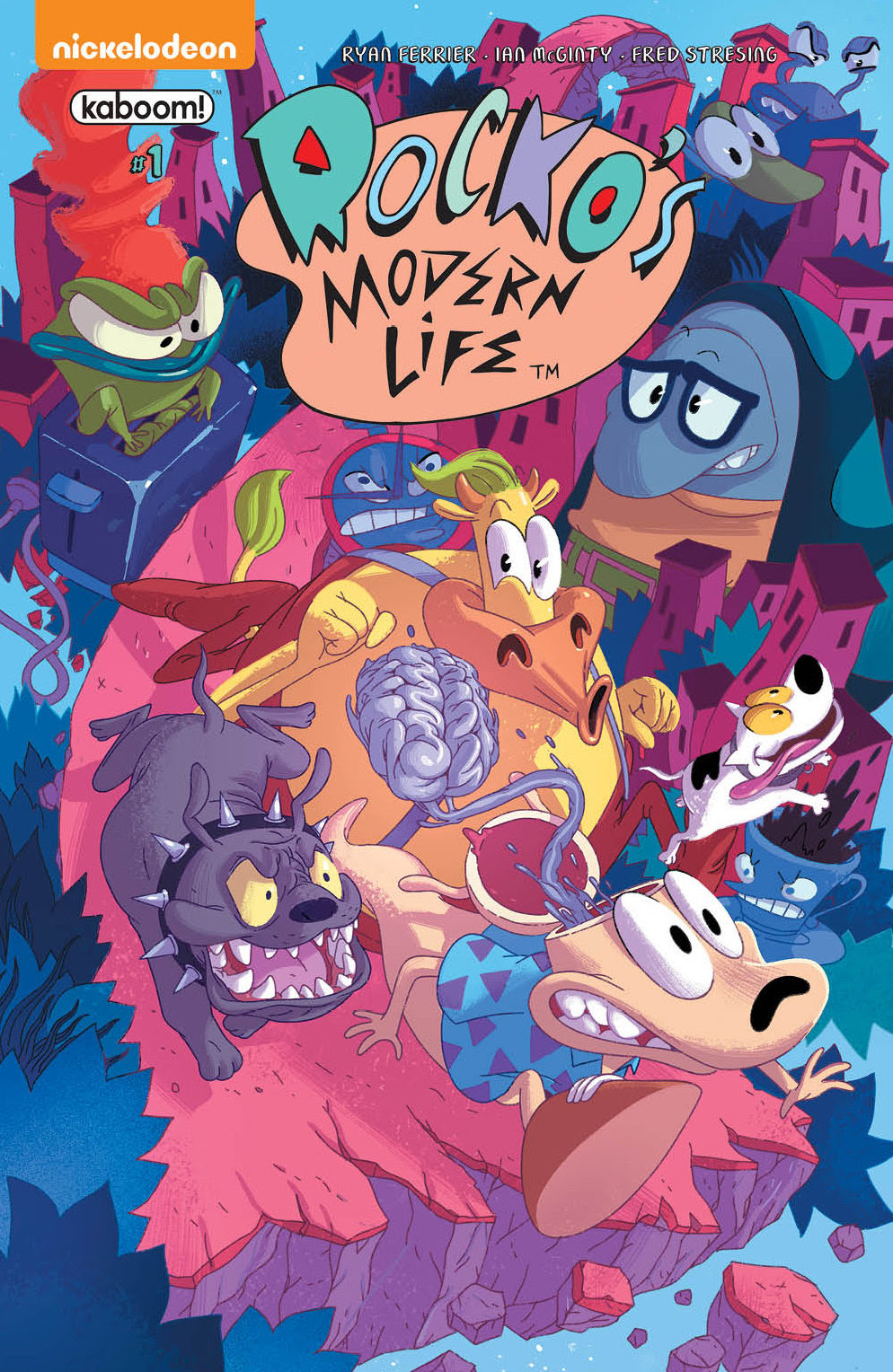 All-new Rocko's Modern Life comic book series launches at BOOM! Studios