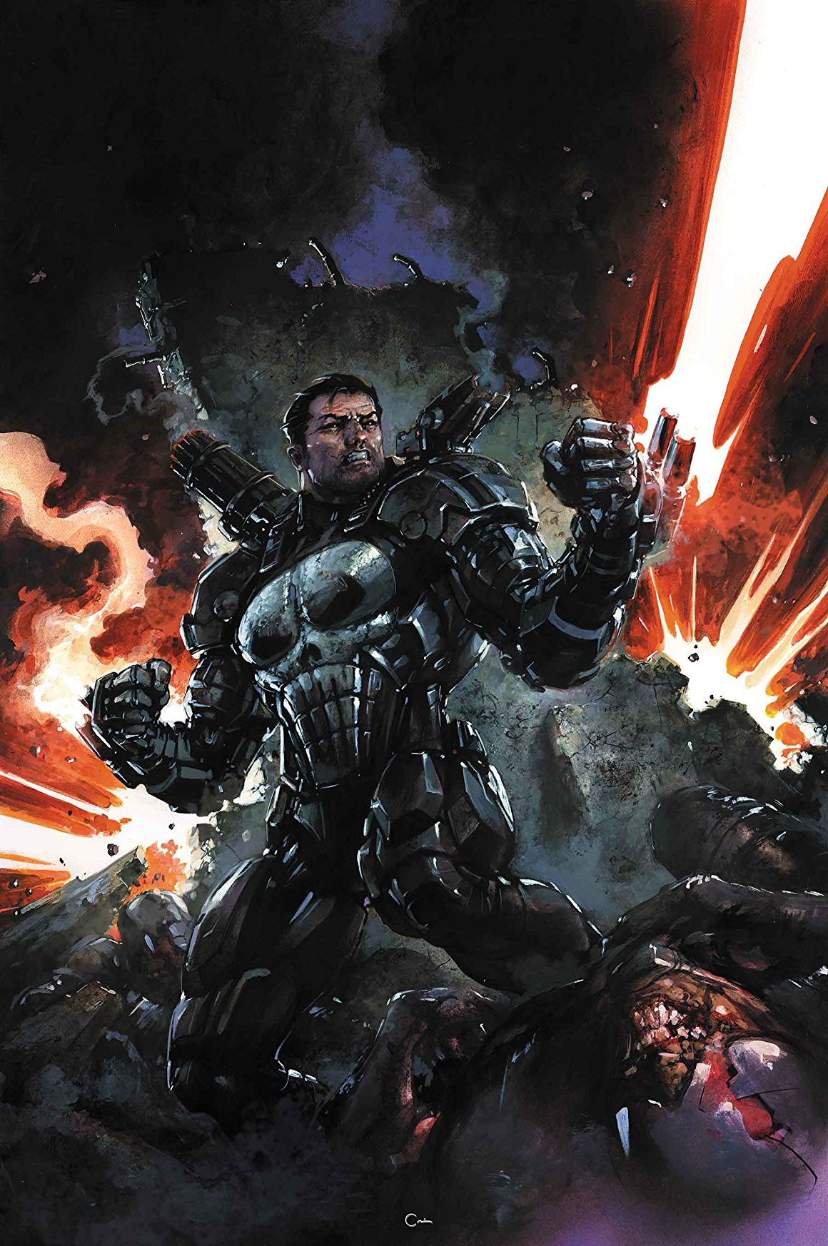 NYCC 2017: The Punisher dons the War Machine armor in Marvel Legacy