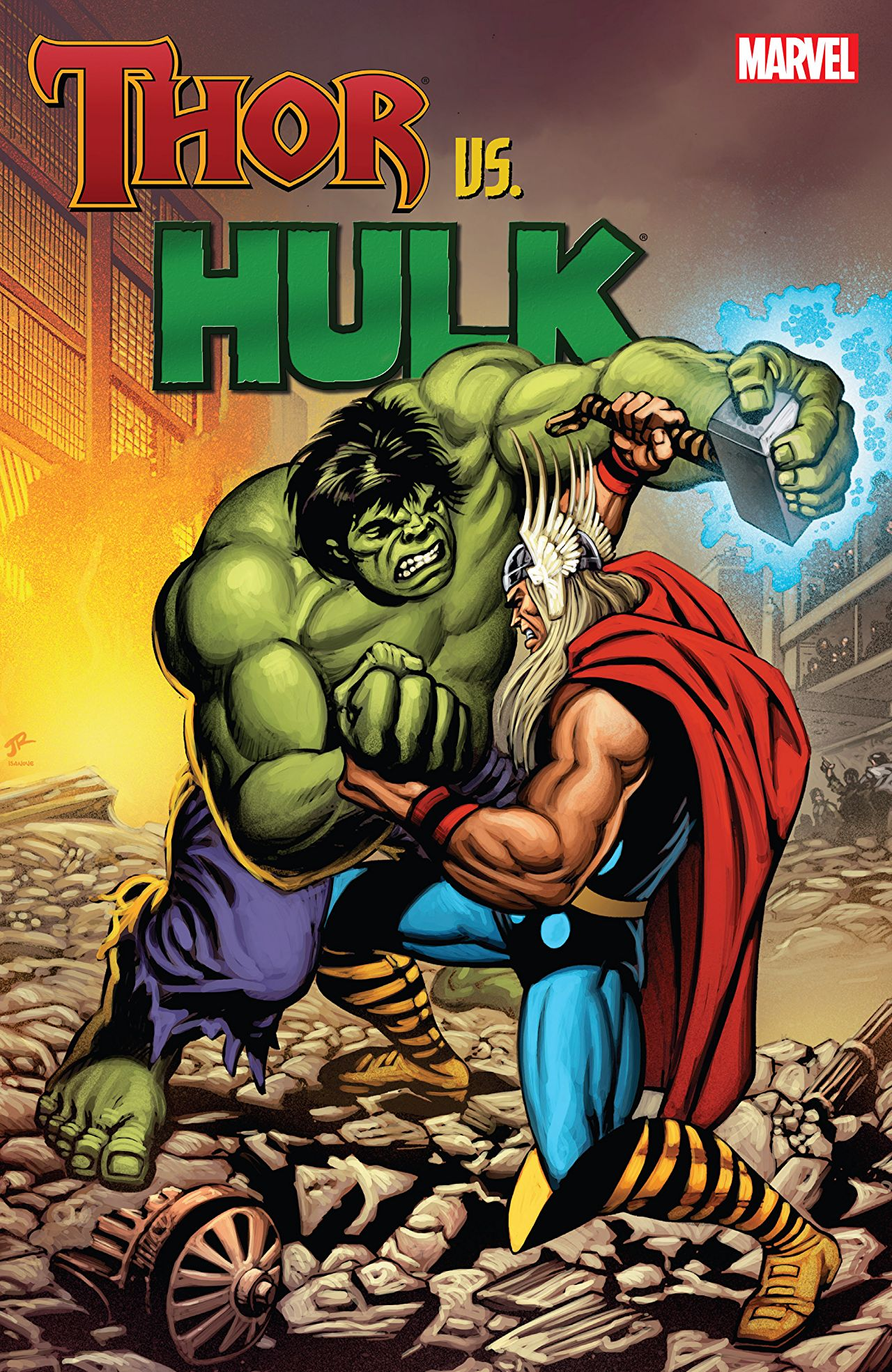 A solid collection showcasing a slew of epic battles between Hulk and Thor.