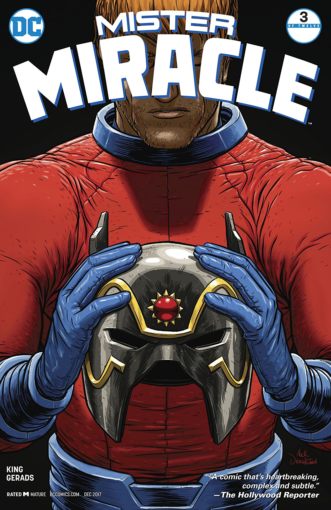 Mister Miracle #3 review: Things get even more disturbing
