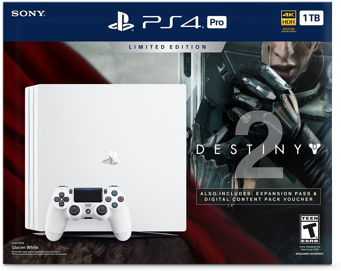Get the 1TB PS4 and Destiny 2 for the price of the console alone.