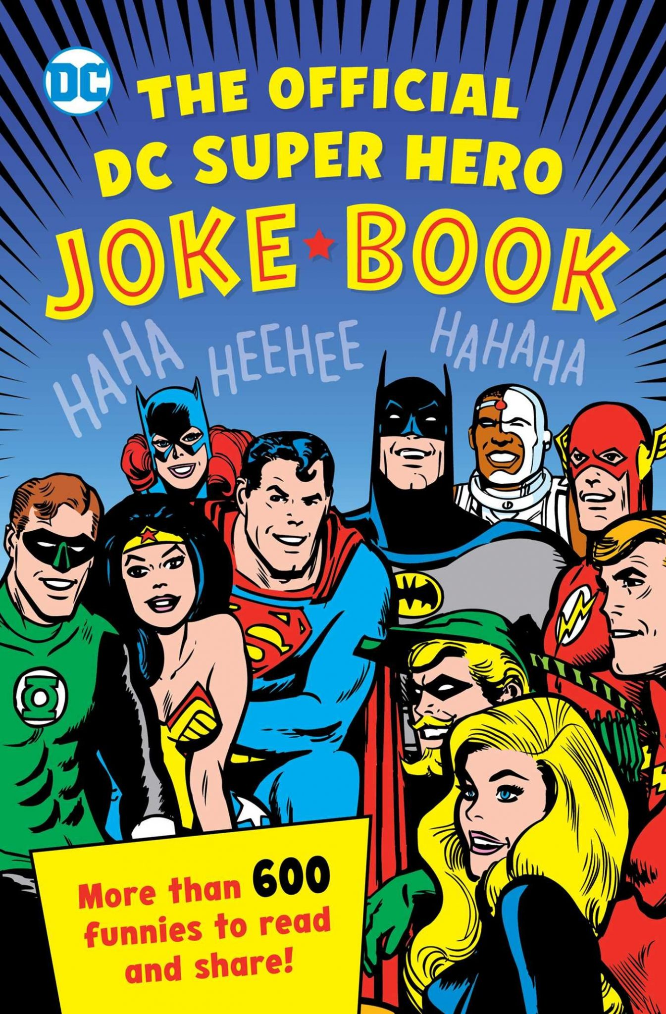 The Official DC Super Hero Joke Book features dad jokes galore