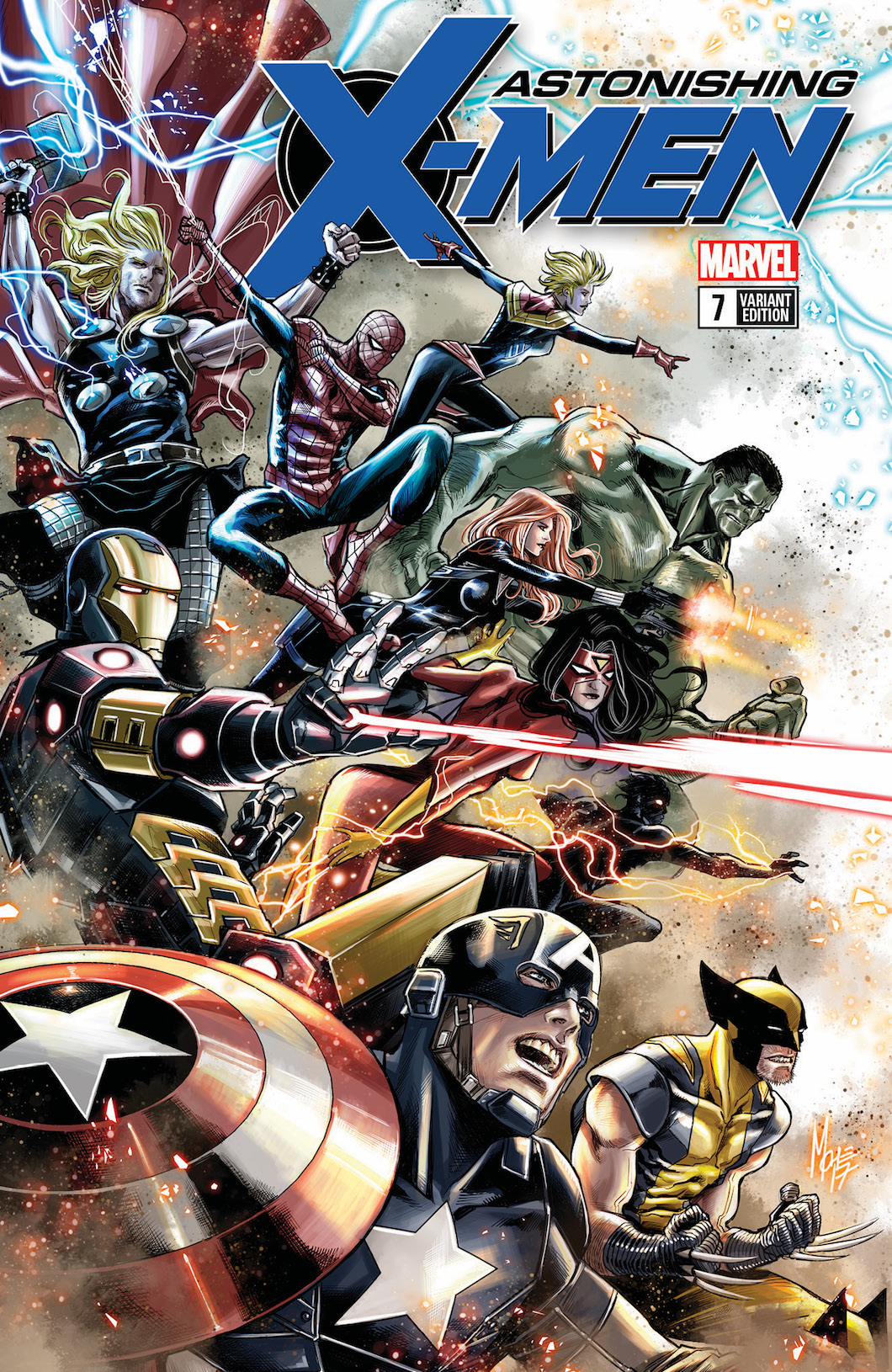 Earth's Mightiest Heroes are celebrated this January in Avengers variants