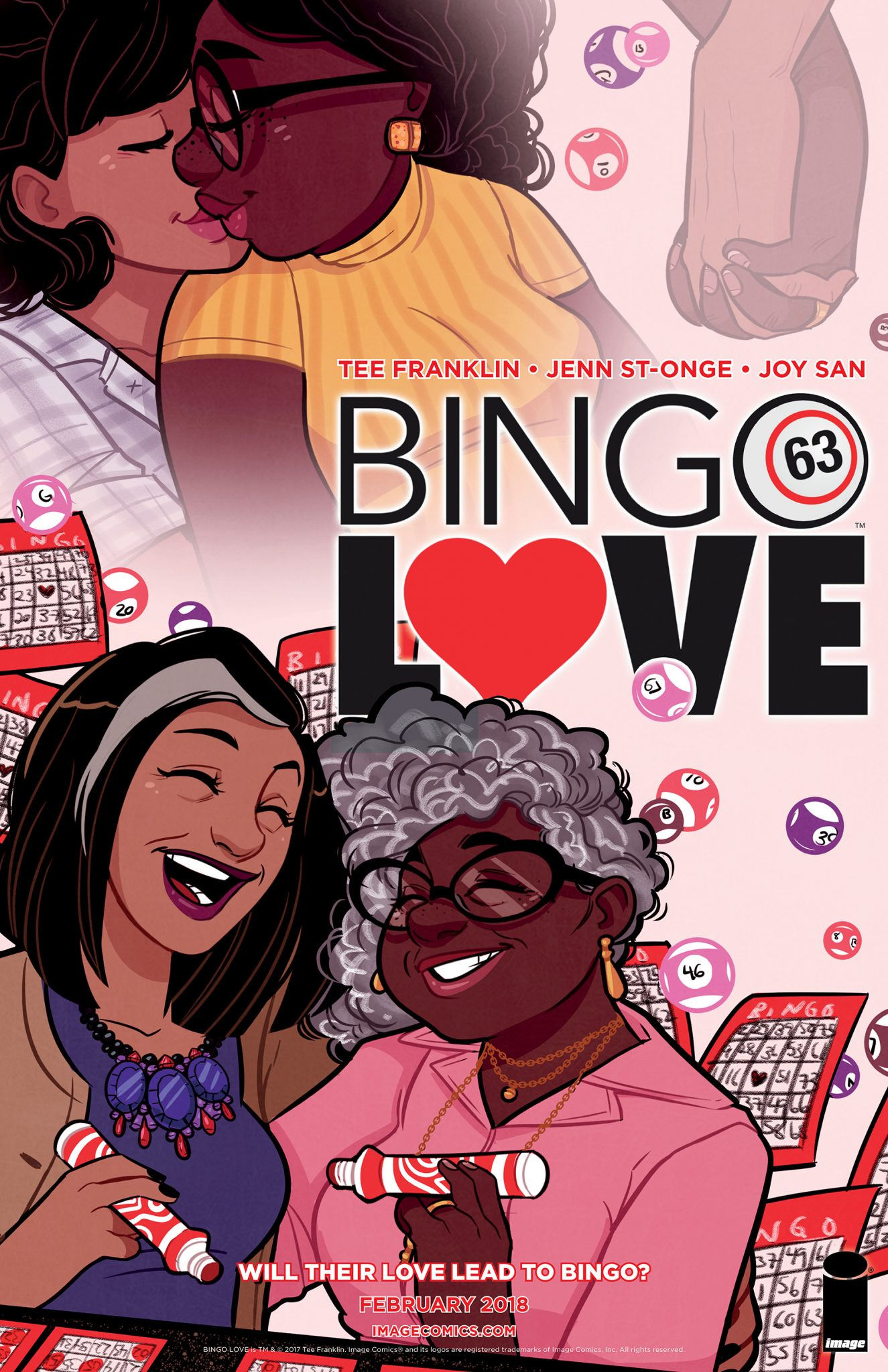 Tee Franklin talks Kickstarter turned Image Comics graphic novel 'Bingo Love'