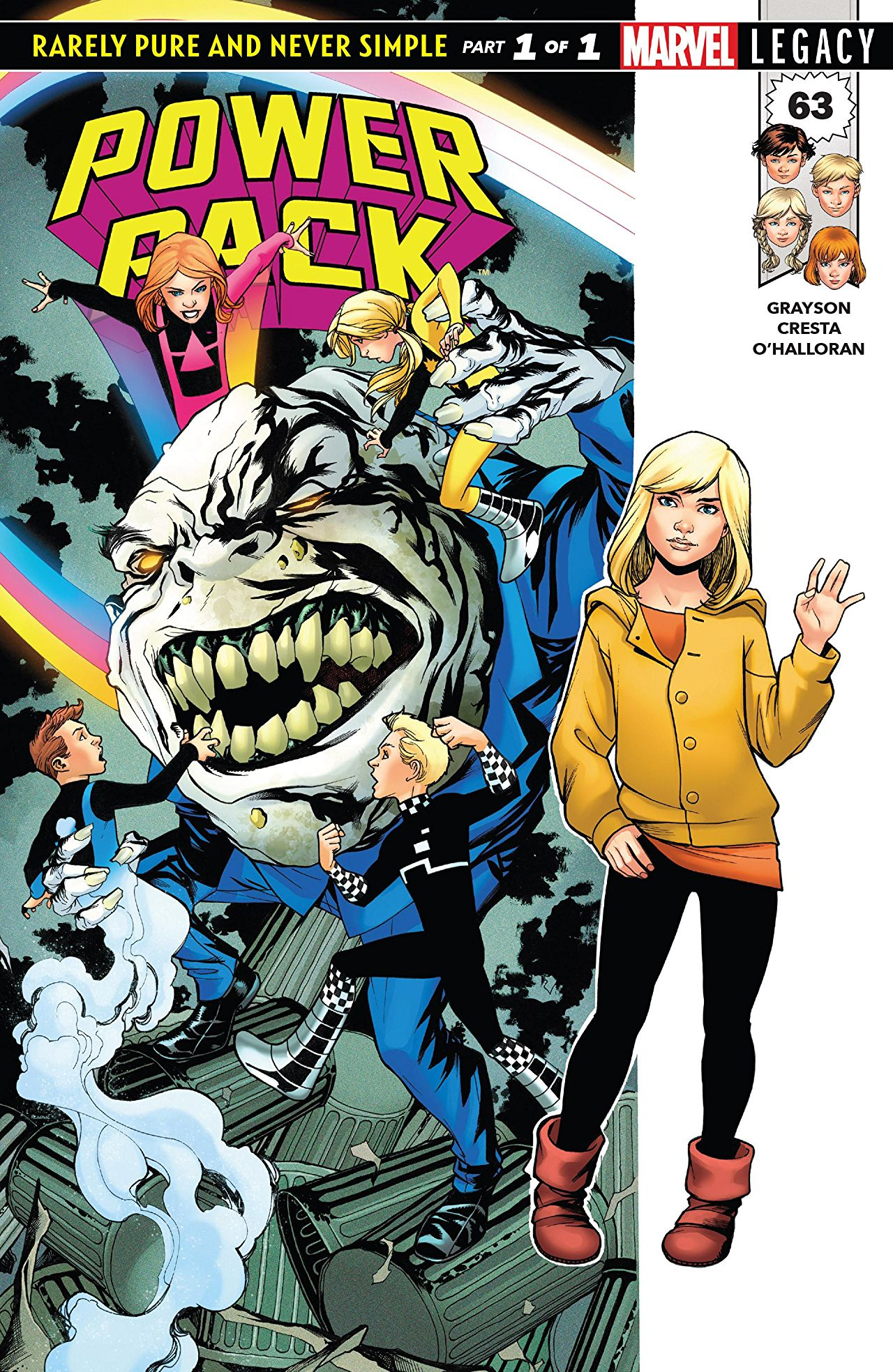 Marvel Preview: Power Pack #63