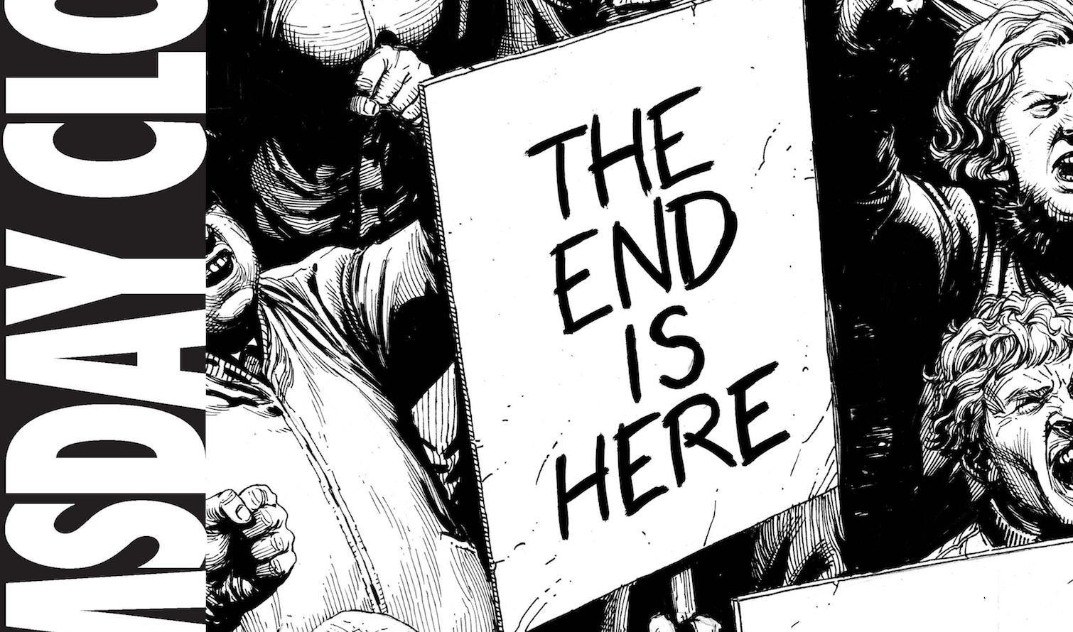 NYCC 2017: First look at DC Comics' Doomsday Clock event