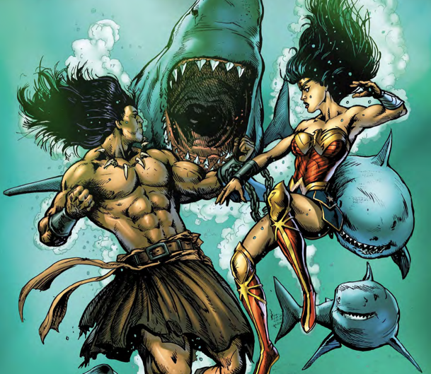 Conan must fight Wonder Woman in this second issue from Dark Horse and DC Comics.