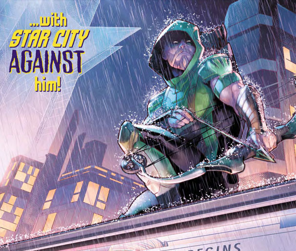 Green Arrow goes back to Star City, but things are about to change big time!