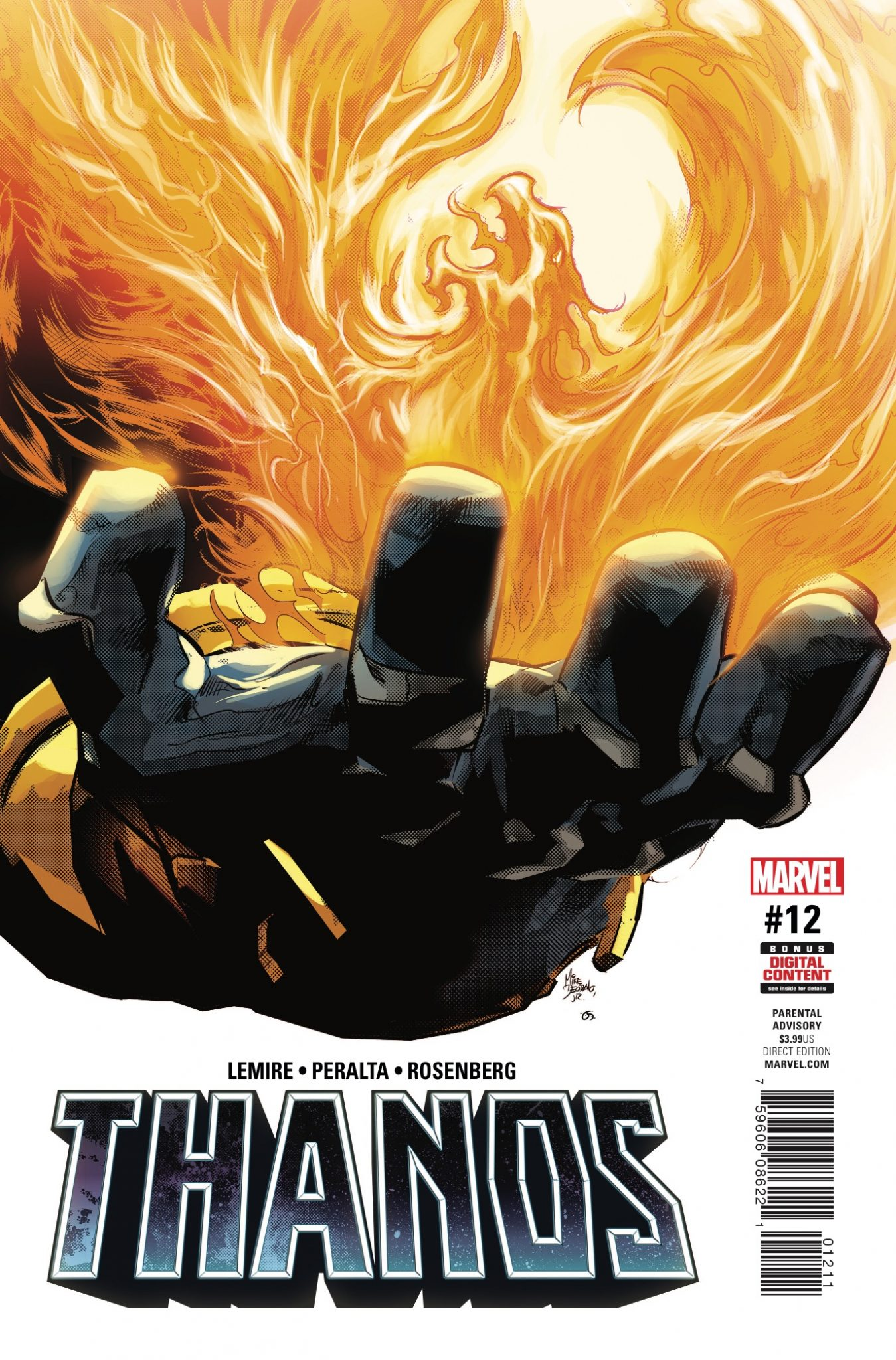 Marvel Preview: Thanos #12