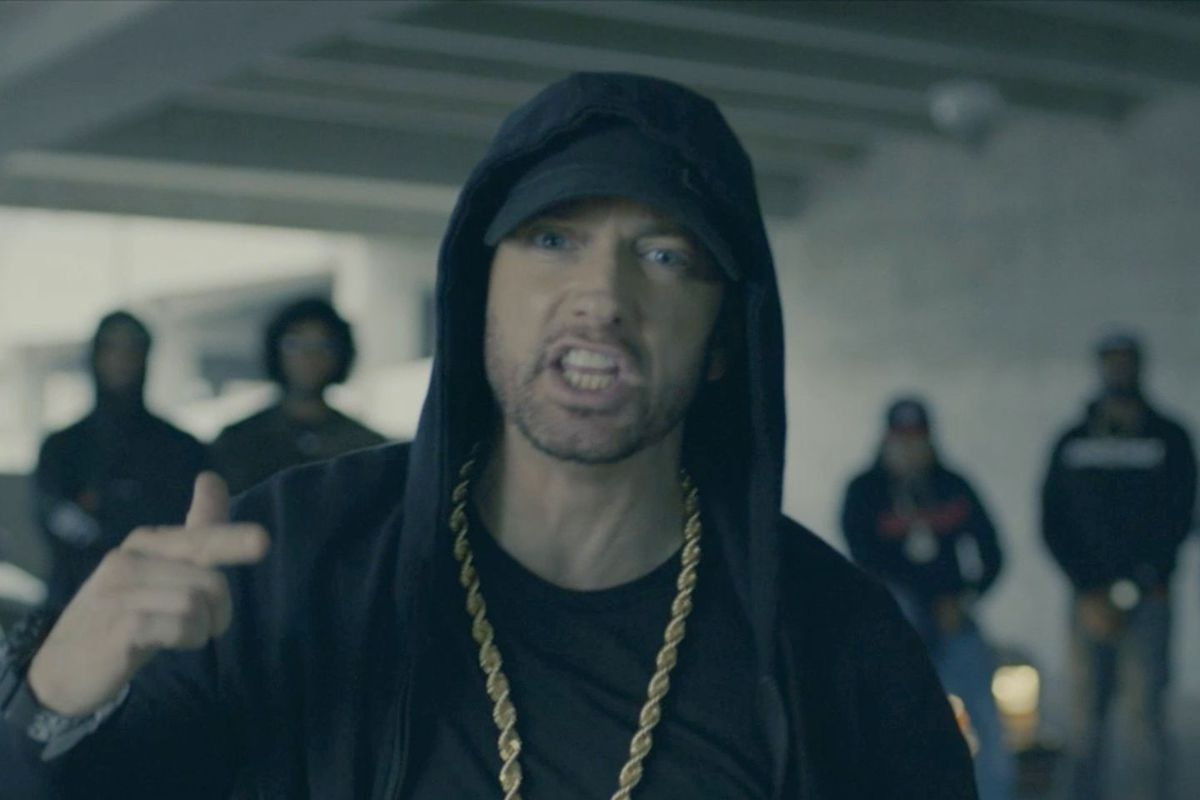 Eminem drops sly comic book reference in freestyle rap diss against Donald Trump