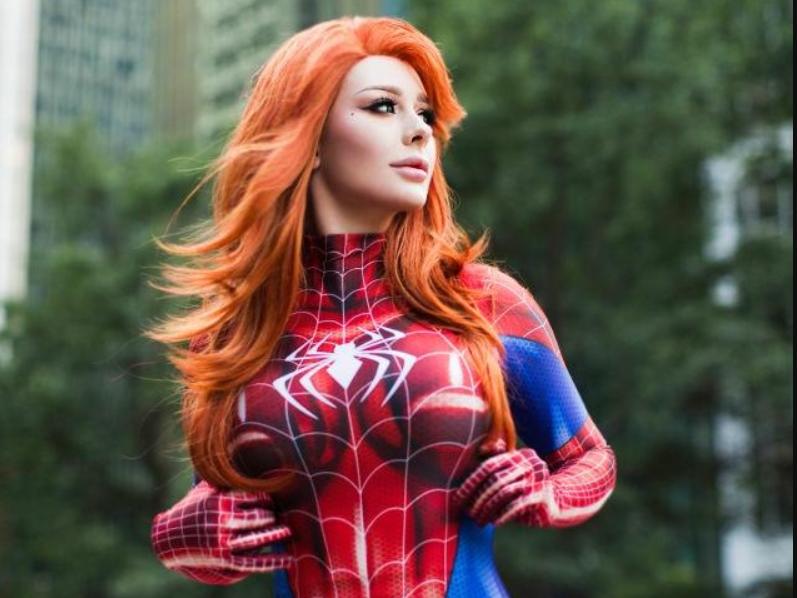 Spider-Man: Mary Jane Watson cosplay by Jenna Lynn Meowri