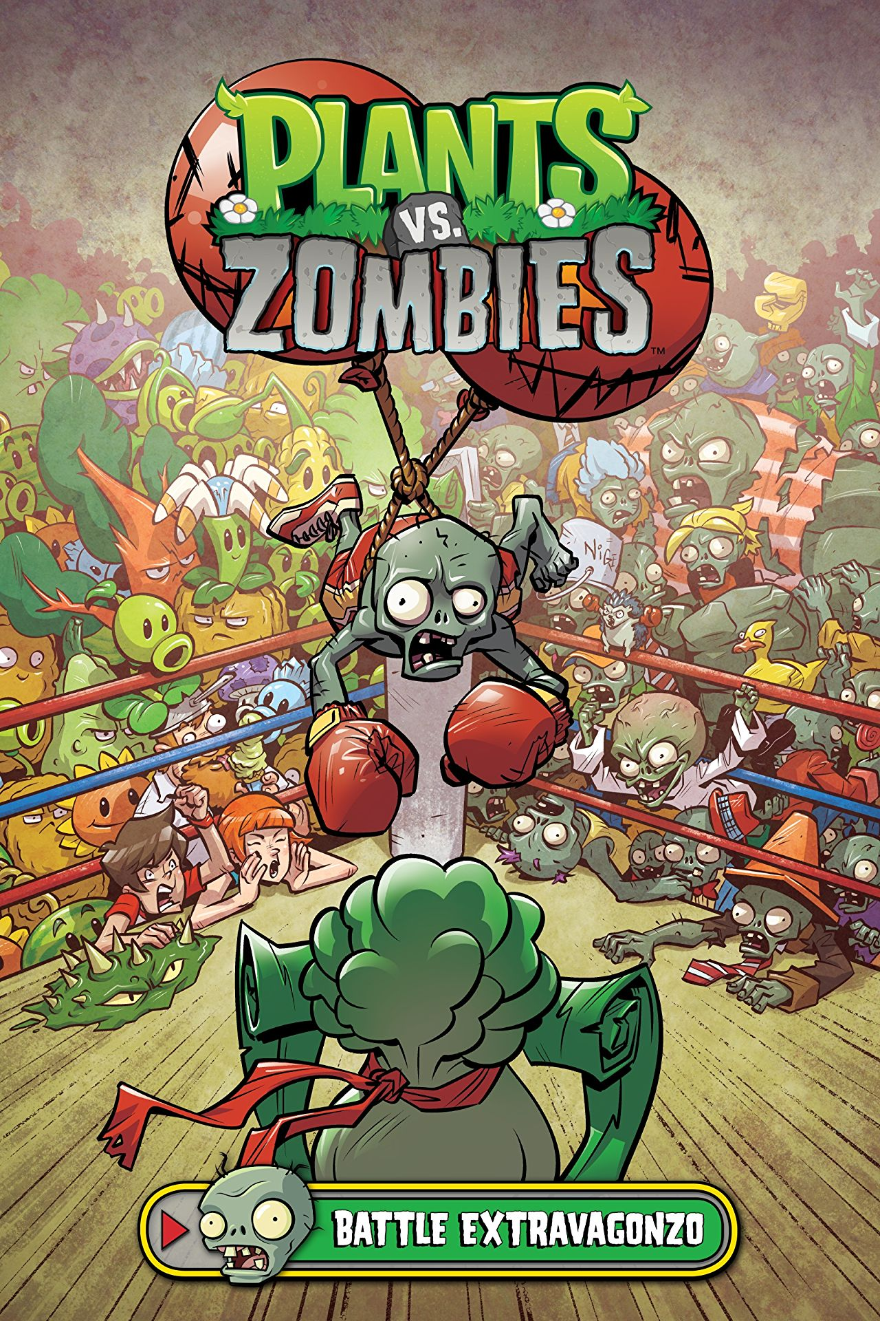 Plants vs. Zombies Boxed Set 3 (Plants Vs. Zombies Set) review: fun illustrations, zombies in luchadore masks -- what else does your inner 8-year-old need?