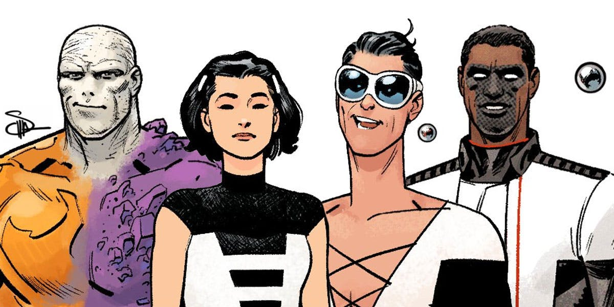 NYCC 2017: DC's 'The Terrifics' explores the unknown and tests the limits of the DC Universe