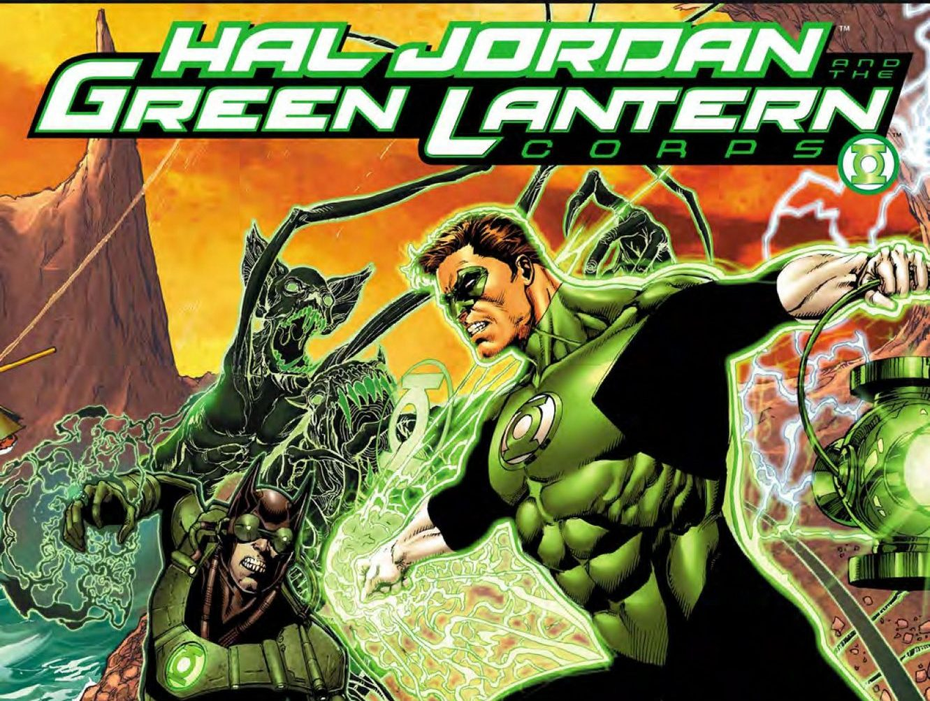 Hal Jordan and the Green Lantern Corps #32 review: 'Bats out of Hell' part three