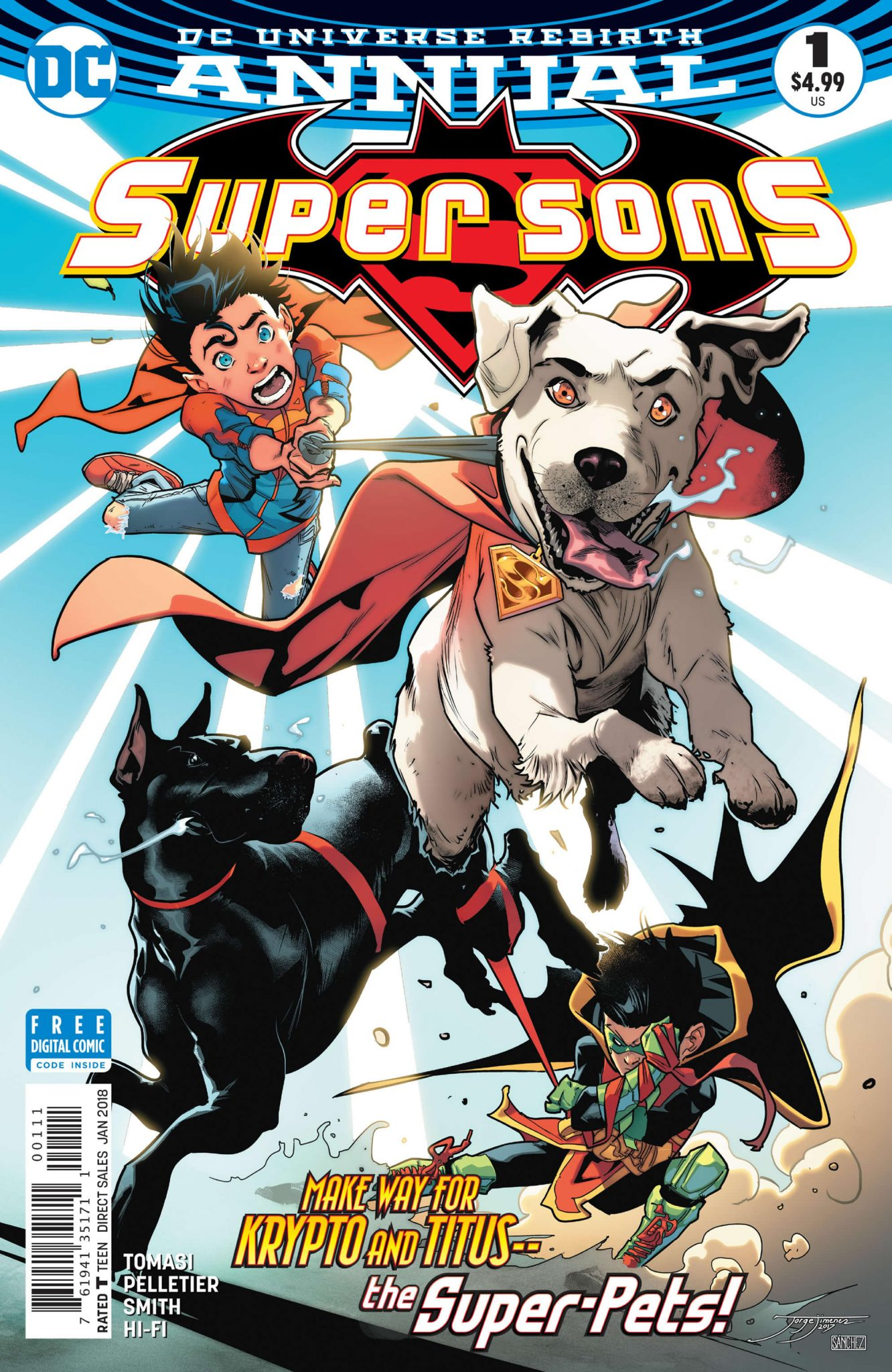 Super Sons Annual #1 Review