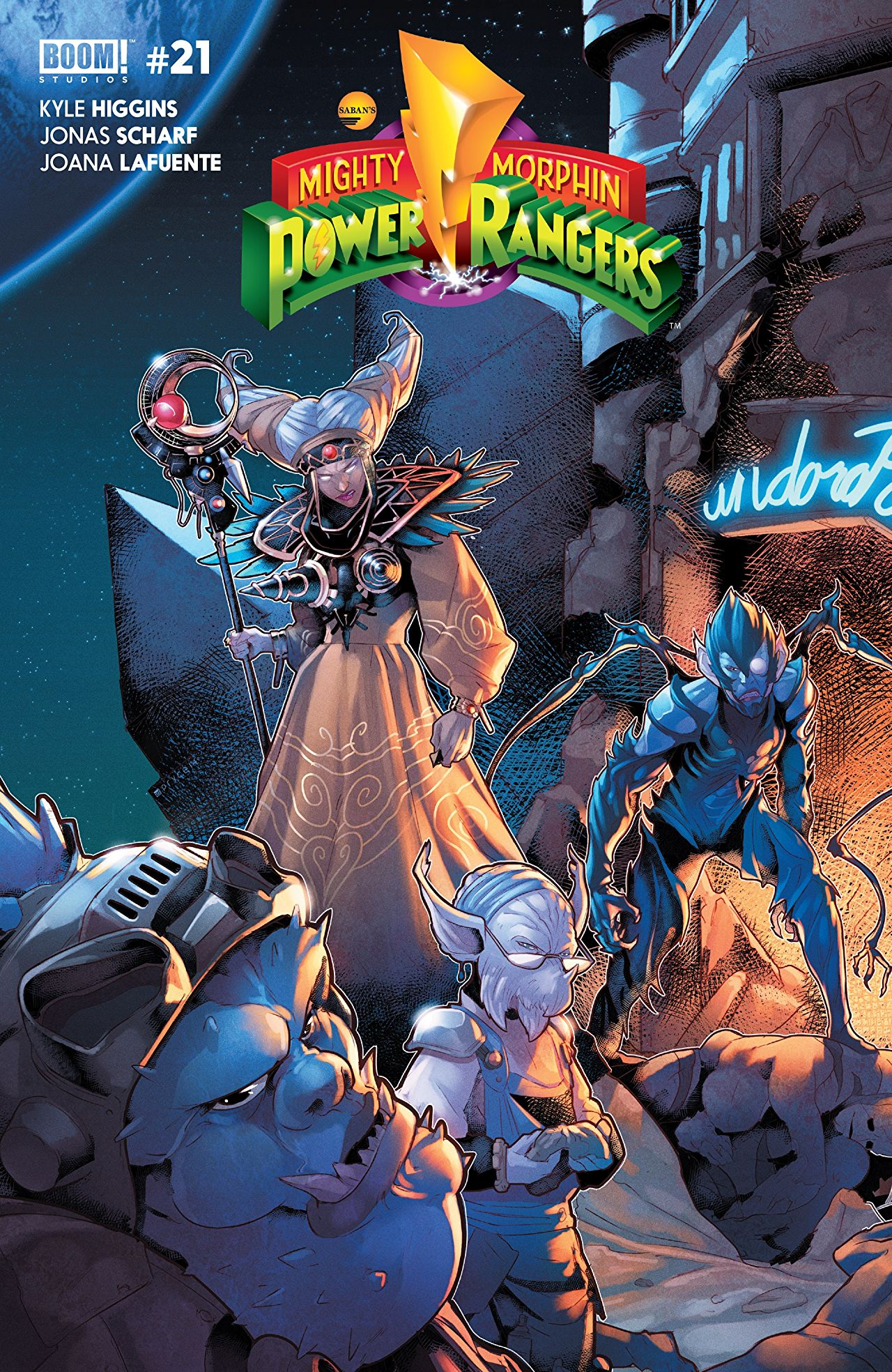 Mighty Morphin' Power Rangers #21 Review