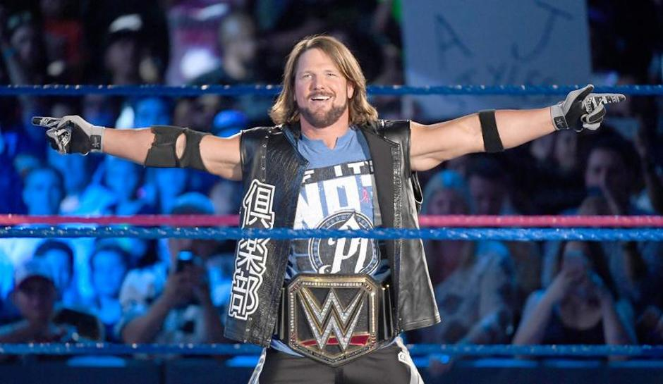 AJ Styles is reportedly the cover star of WWE 2K19