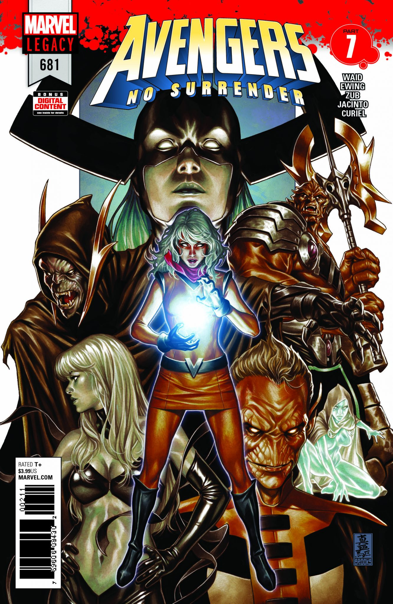 AVENGERS: NO SURRENDER: Second month covers revealed!