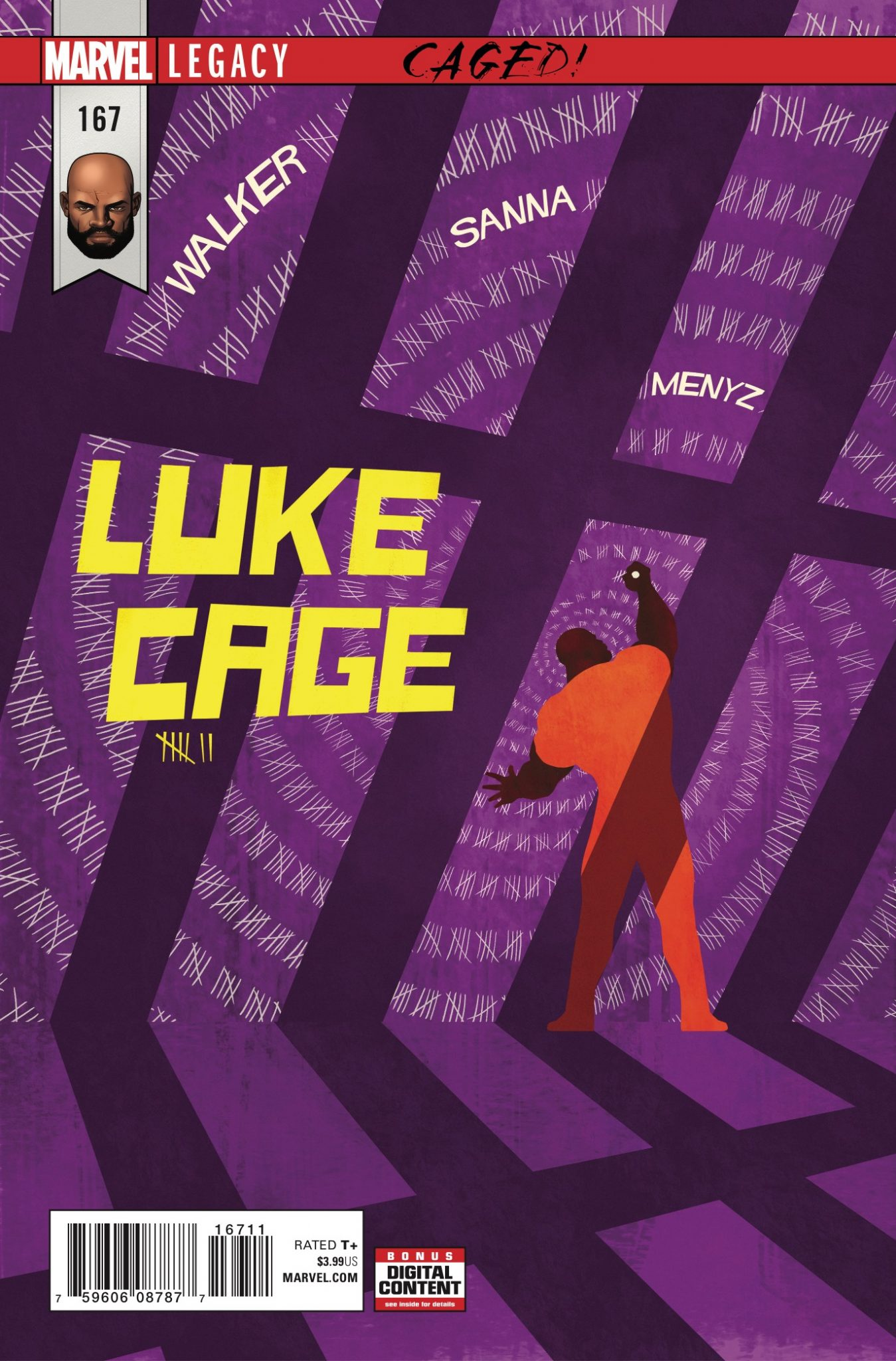 Marvel Preview: Cage #167