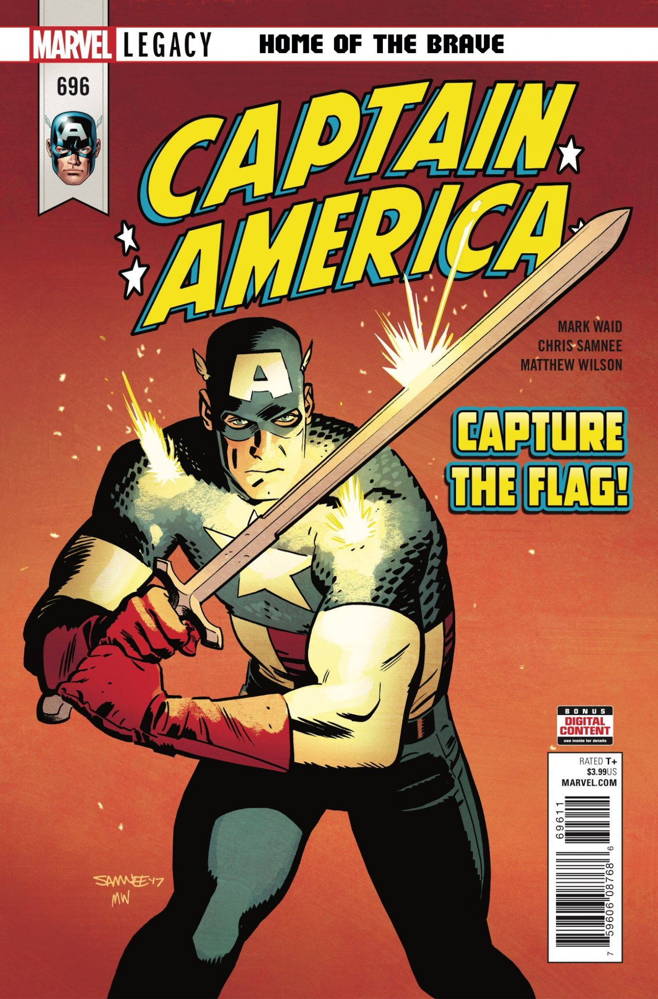 Marvel Preview: Captain America #696