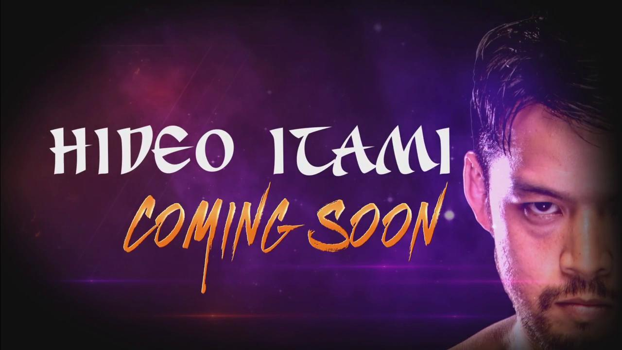 Hideo Itami is coming to 205 Live