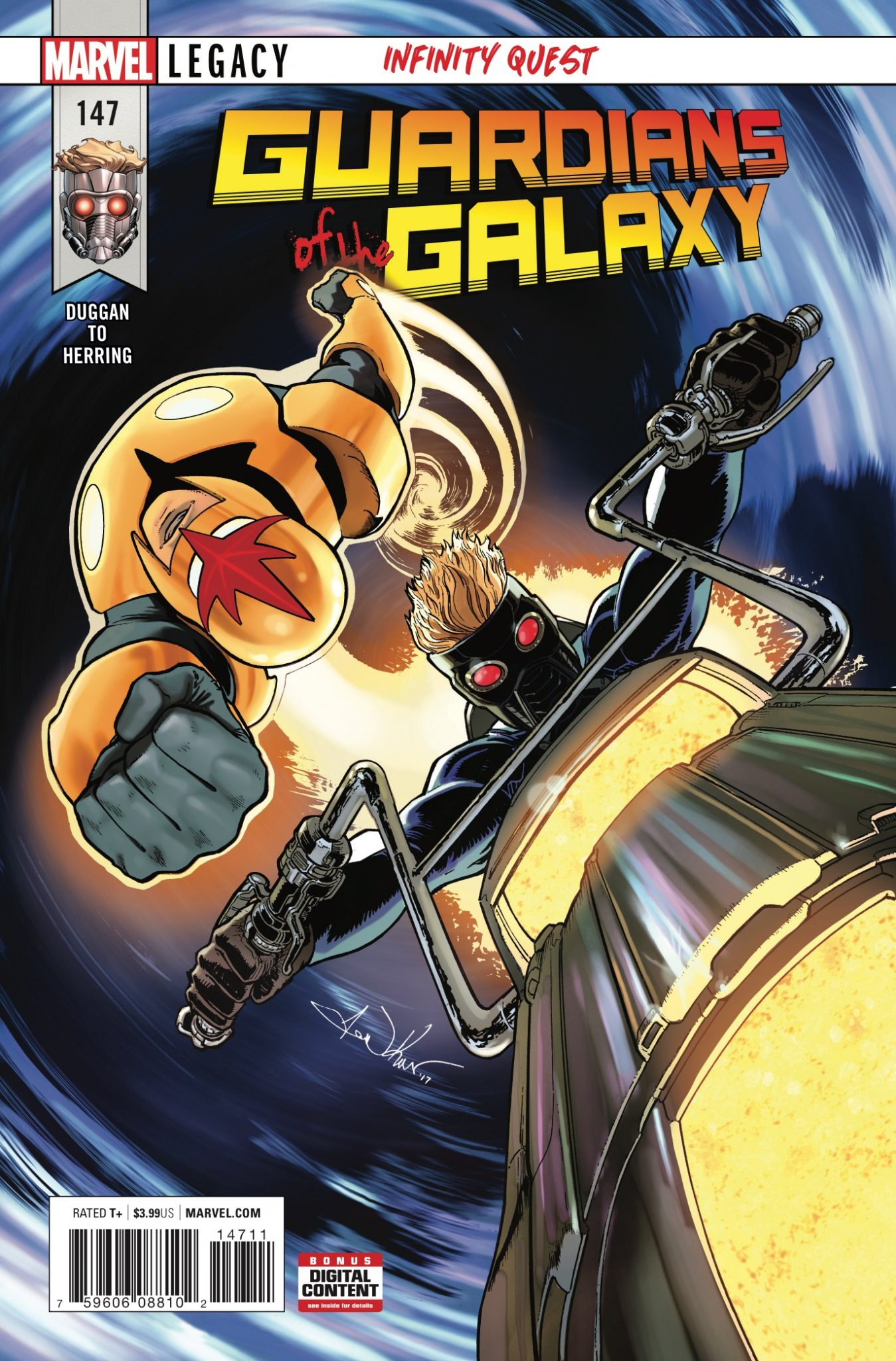 Marvel Preview: Guardians of the Galaxy #147