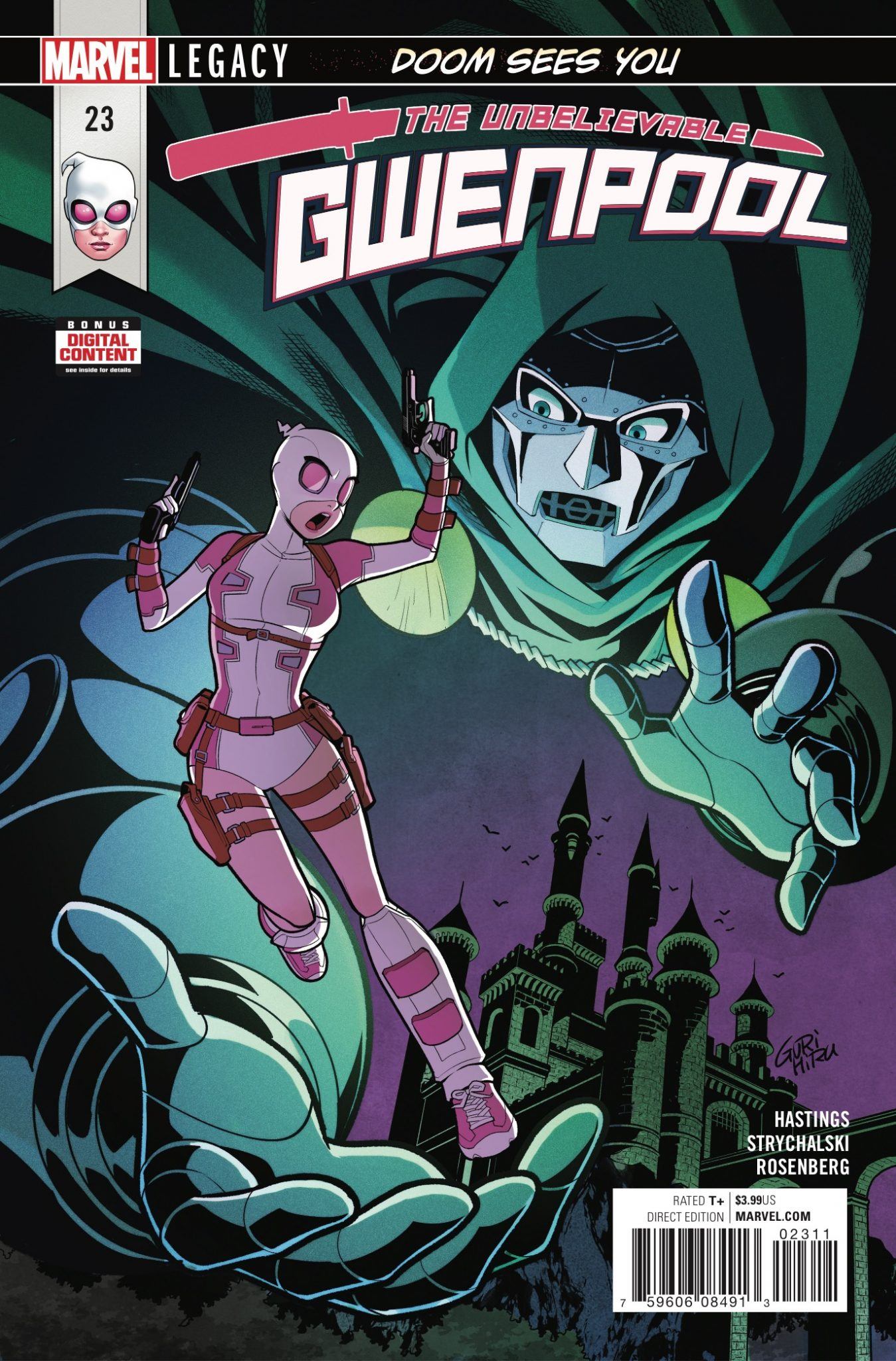 Marvel Preview: The Unbelievable Gwenpool #23