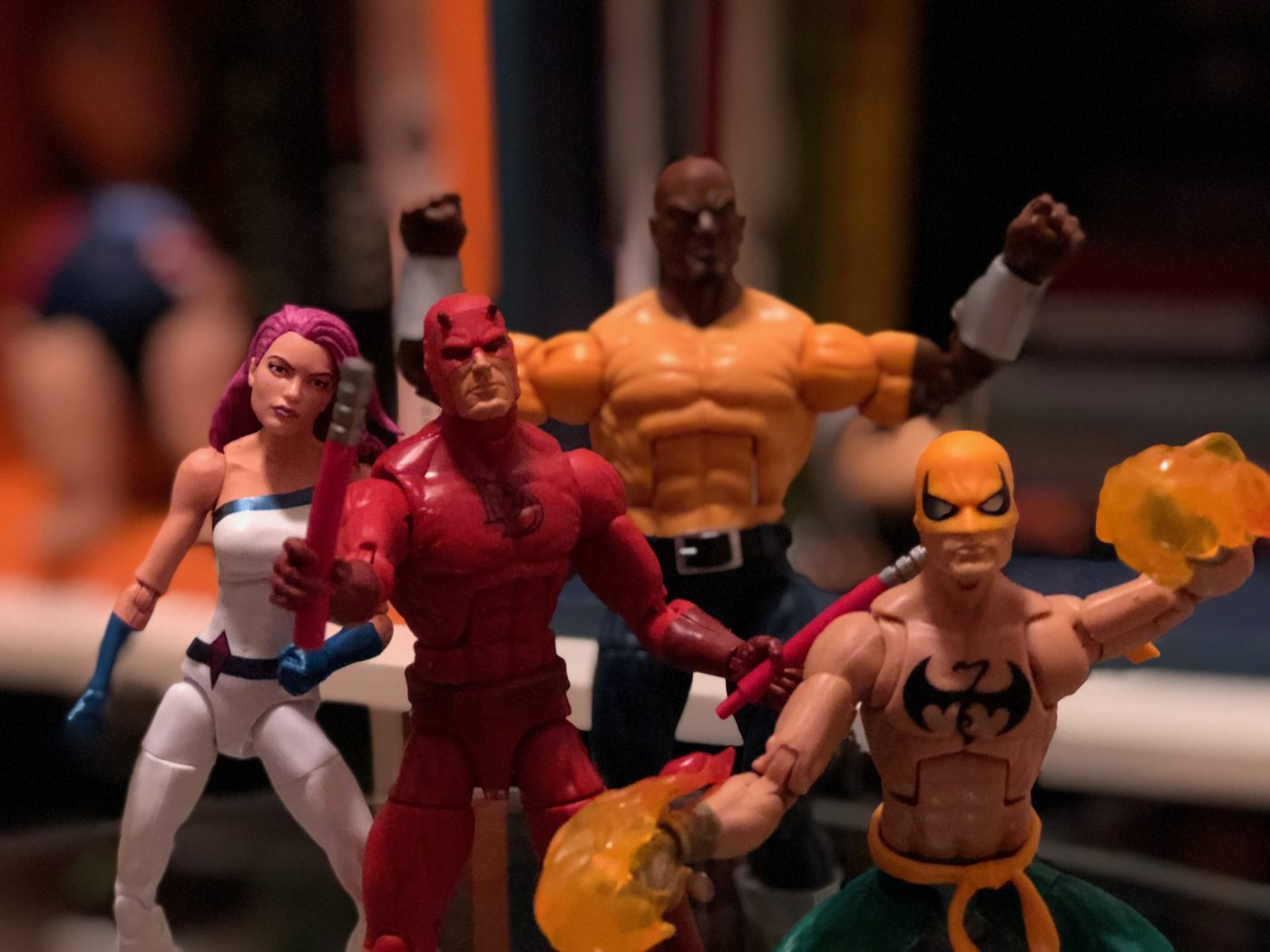 Unboxing/Review: Marvel Legends Series The Defenders Figure 4-pack