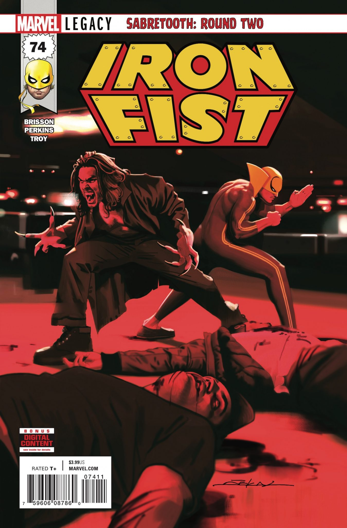 Marvel Preview: Iron Fist #74