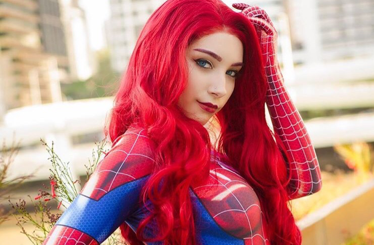 Spider-Man: Mary Jane Watson cosplay by Beke Jacoba