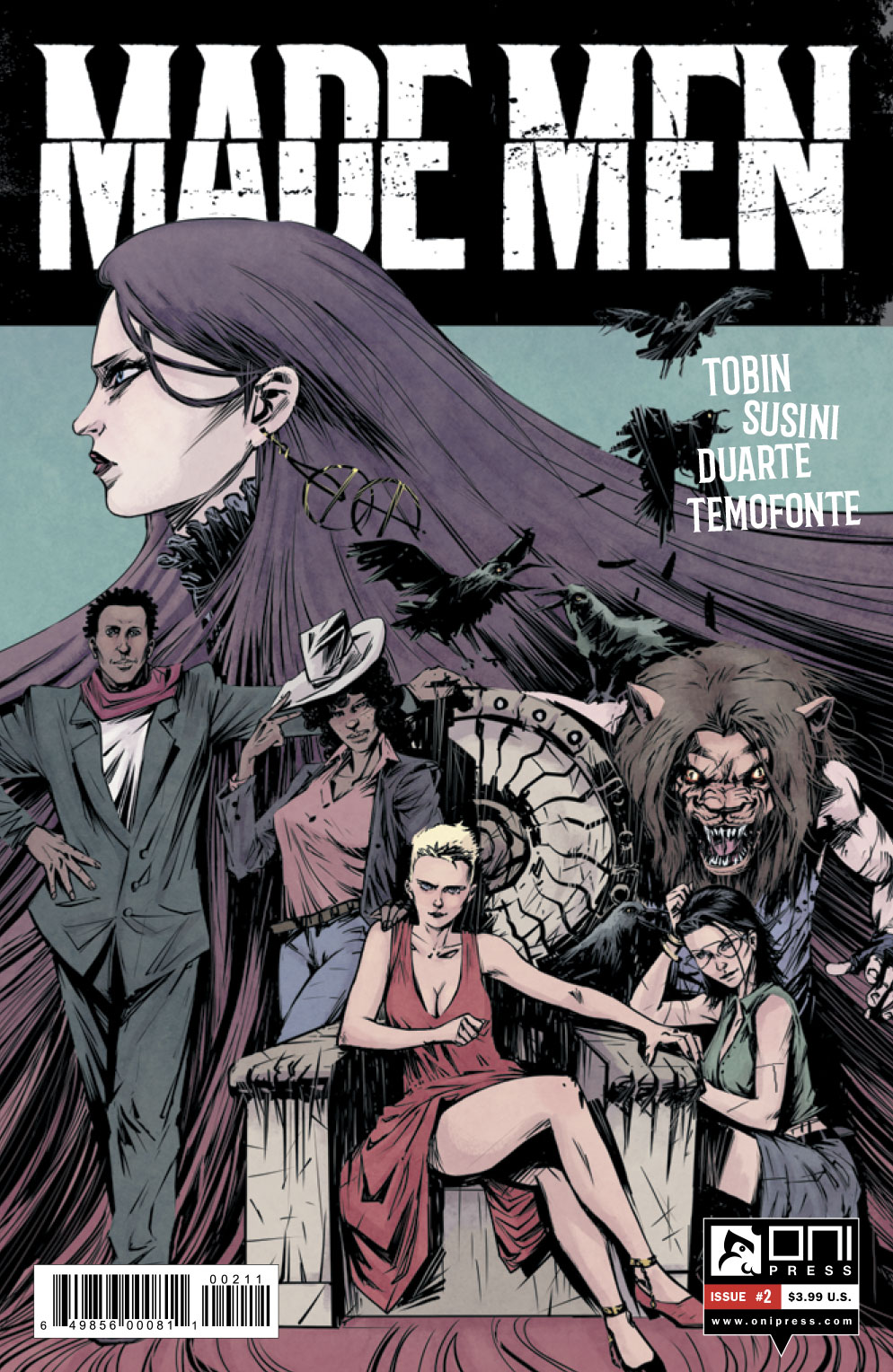 It's Alive!!! Paul Tobin and Arjuna Susini discuss the Frankenstein-inspired 'Made Men'