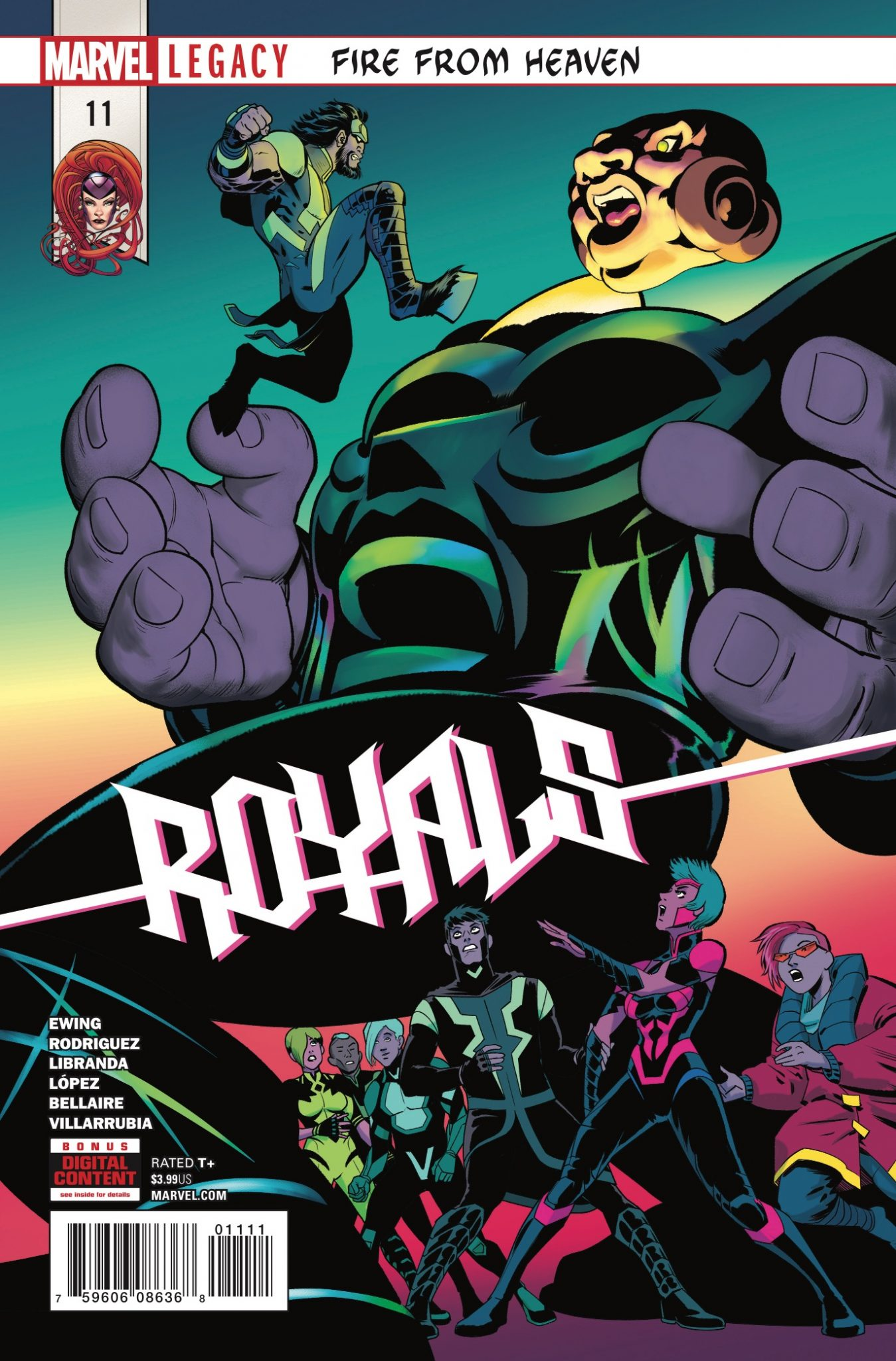 Marvel Preview: Royals #11
