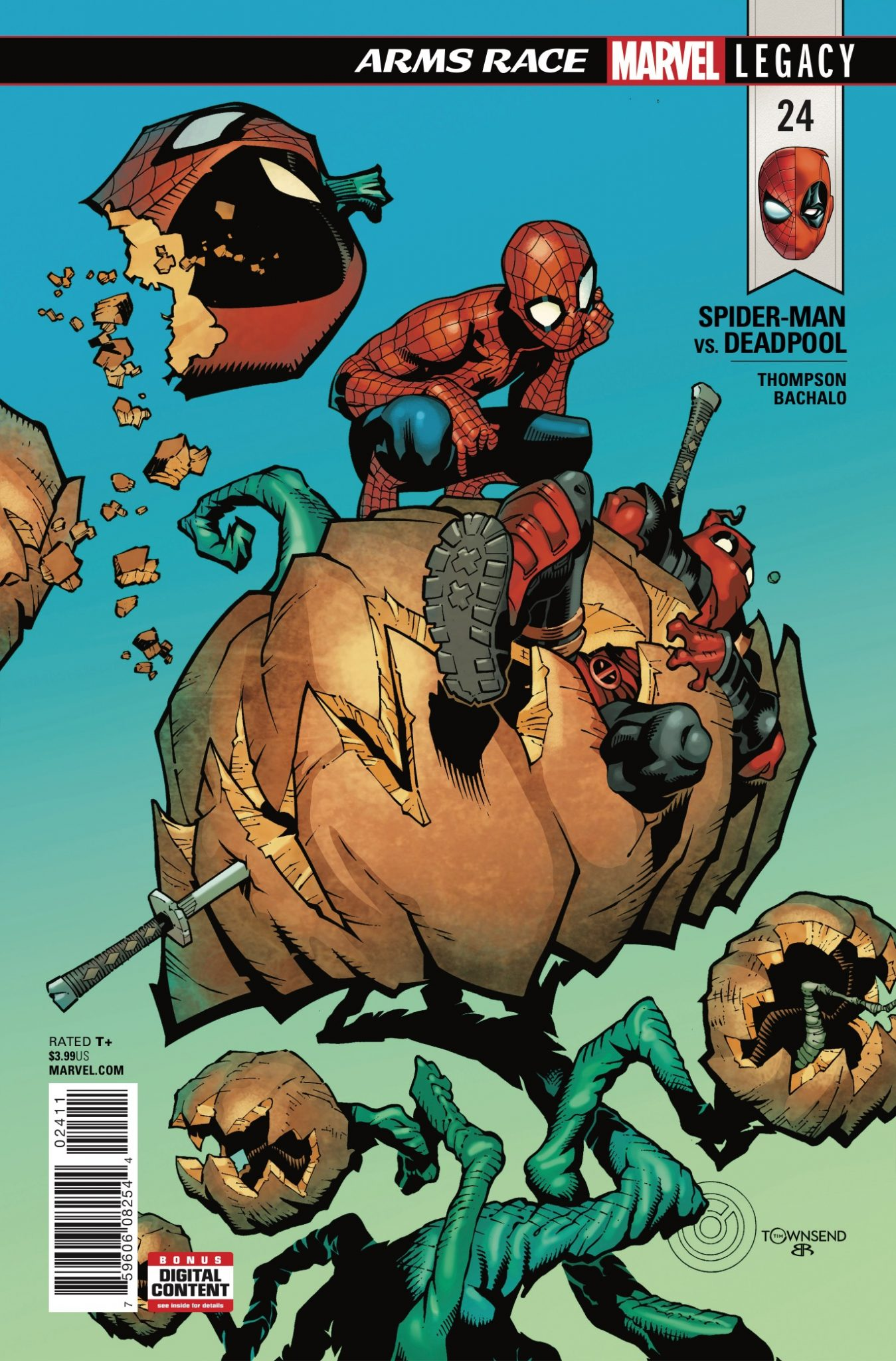 Marvel Preview: Spider-Man/Deadpool #24