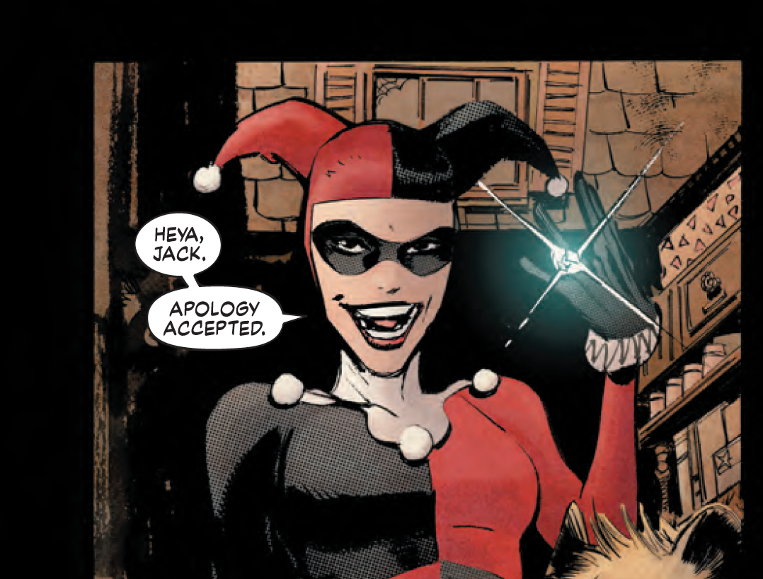 'Batman: White Knight' introduced the concept of multiple Harley Quinn characters.