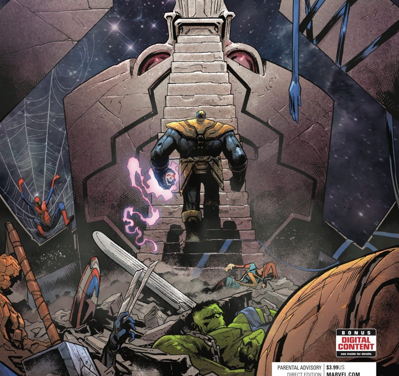 Thanos #13 Review: Throw up the horns, Thanos rocks!
