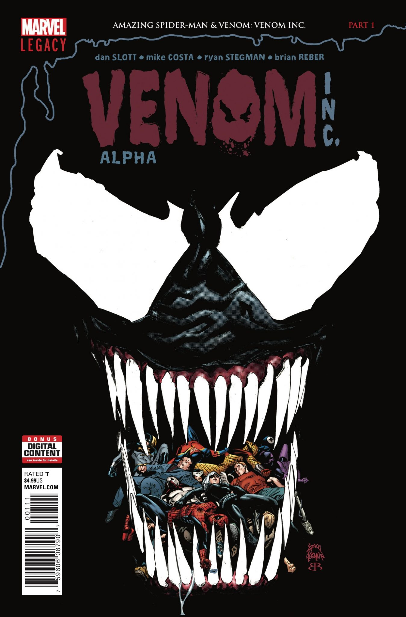 Marvel Preview: Amazing Spider-Man: Venom Inc. Alpha #1