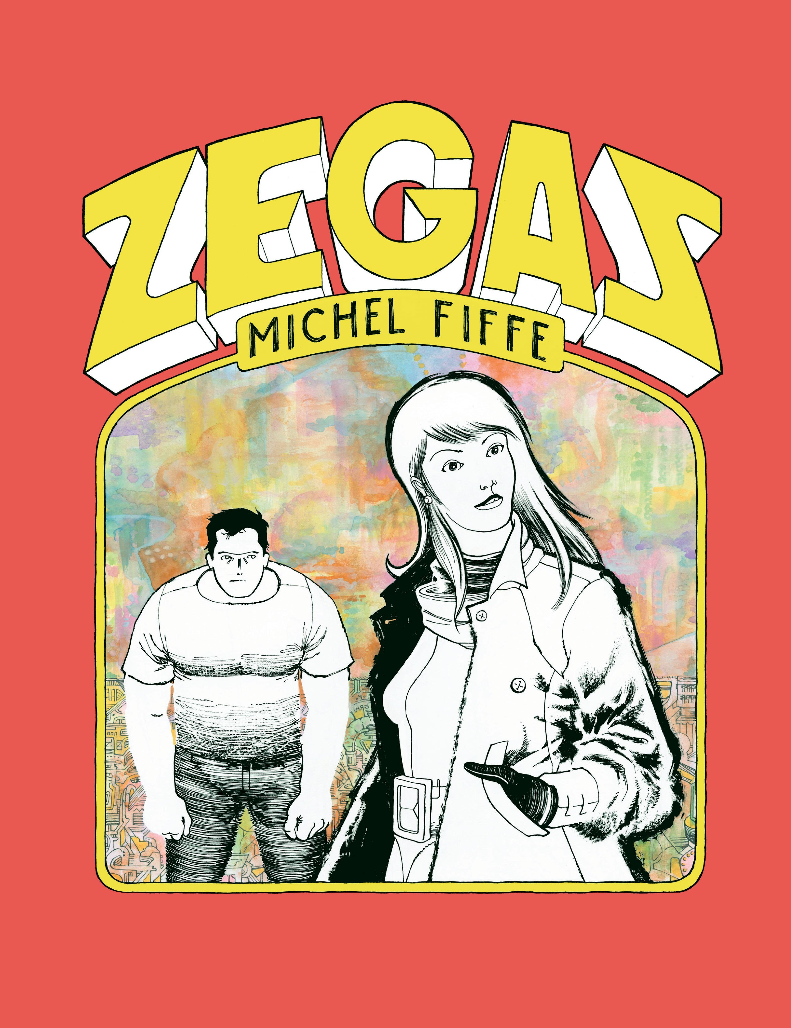 Zegas transports readers to a bizarre world existing between delightful trivial and sheer cosmic psychedelia.