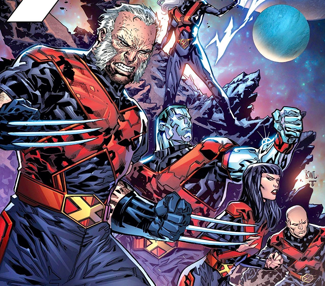 Catching up with 'X-Men Gold' artist Ken Lashley at Rhode Island Comic Con 2017