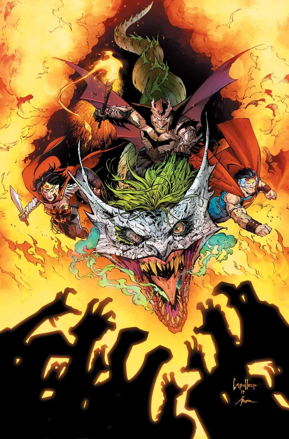 Does 'Dark Nights: Metal' #6 have the most metal comic book cover of all time?